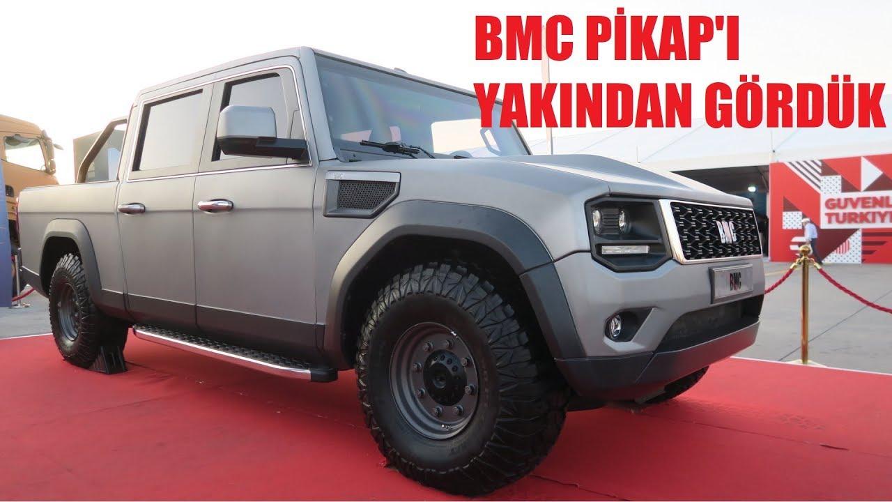 BMC Pikap ilk inceleme.
