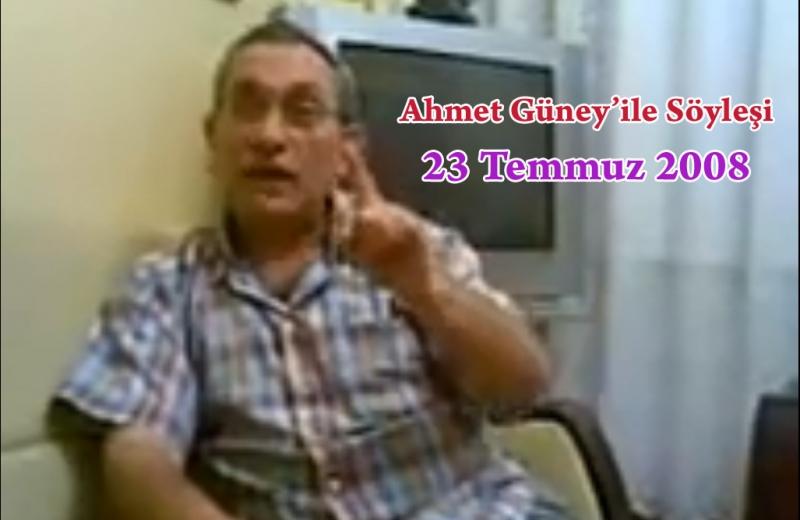 Ahmet Güney ile Renkli Söyleşi