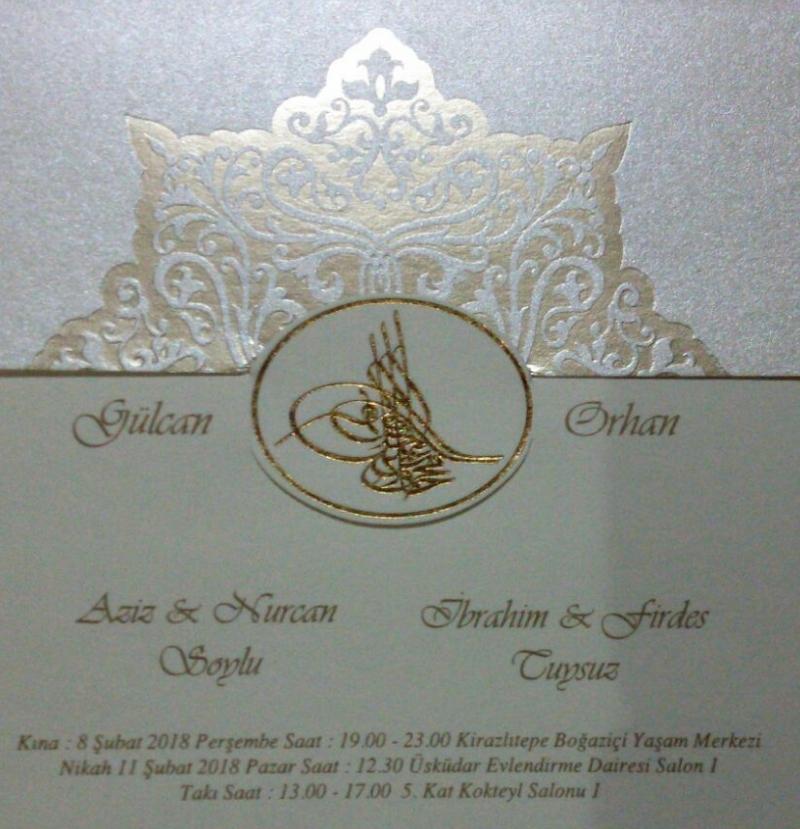 Gülcan ve Orhan Kardeşimizin Mutlu Günü.