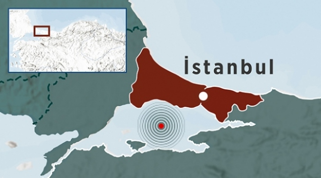İstanbul 5,8 ile sallandı