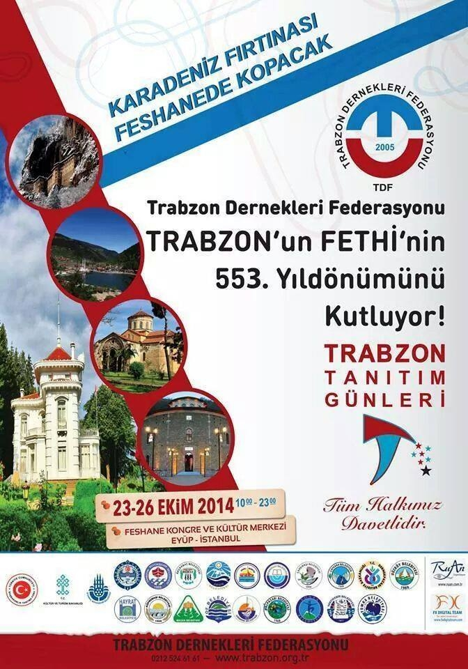 TRABZON TANITIM GÜNLERİ BAŞLADI