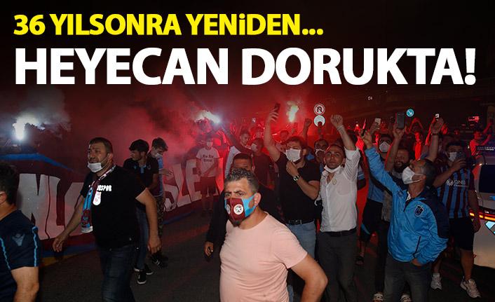Trabzonspor 36 yılın ardından bir ilk peşinde