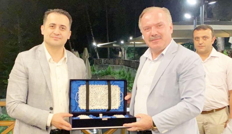 Sürmene Kaymakamımız Mehmet Alper ÇIĞ'ın veda mesajı.