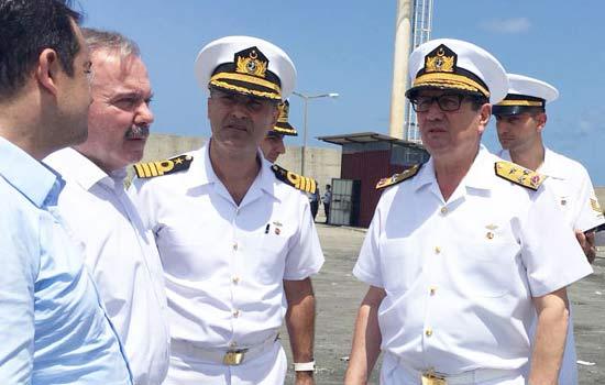 Türkiye'nin 9. deniz üssü Sürmene'ye