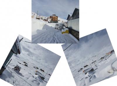 09 MAYS 2020 Taşlı Yaylası Kar'a Büründü !