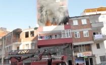 Araklı'da yangın korkuttu.