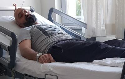 Ayhan SOYLU fizik tedaviye başladı.