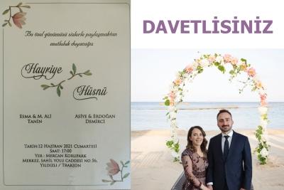 Demirci ve Tanin Ailesinin Mutlu Günü.. - DAVET