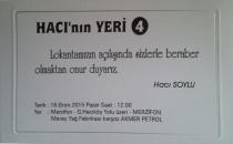 Hacı'nın 4'üncü Mağazası Amasya Yolu'nda Açılıyor.