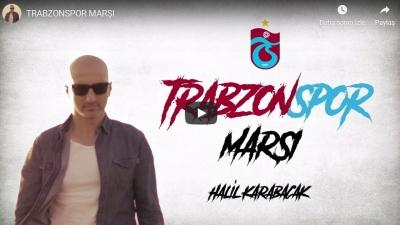 Sürmene'li Halil KARABACAK, TrabzonSpor'a marş yazdı.