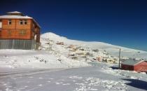 Sürmene'ye Yılın ilk karı yağdı!