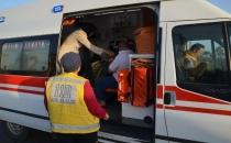Trabzon yolunda kaza!