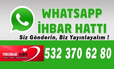 Yokuşbaşı Haber  Whatsapp ihbar hattı