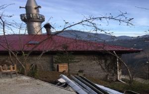 Yokuşbaşı Mahallesi Camii'nde Tadilat Çalışmaları Hızla Devam Ediyor.