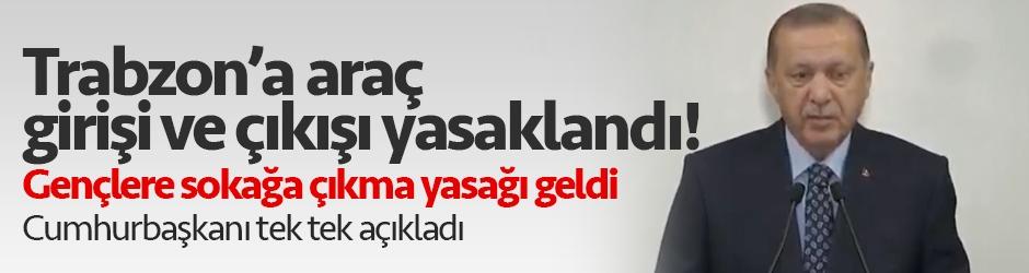 Cumhurbaşkanı Erdoğan açıkladı! İşte alınan yeni tedbirler...