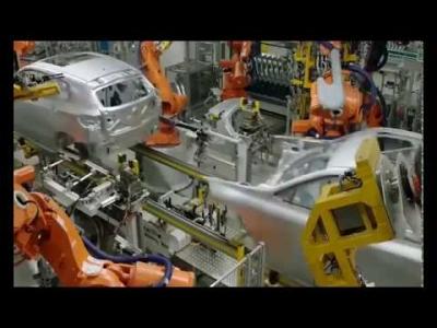 Bmw X2 Seri Üretim  fabrikasındaki yapım aşaması.